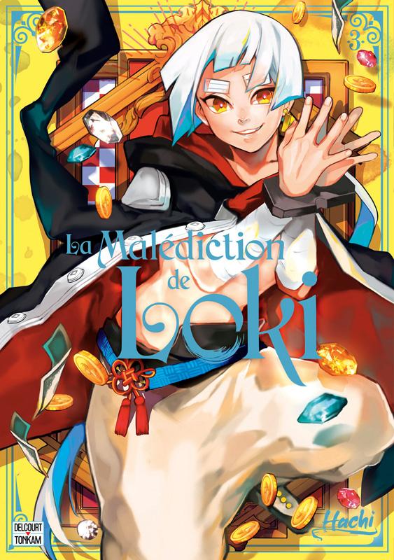 La malédiction de Loki T3, manga chez Delcourt Tonkam de Hachi