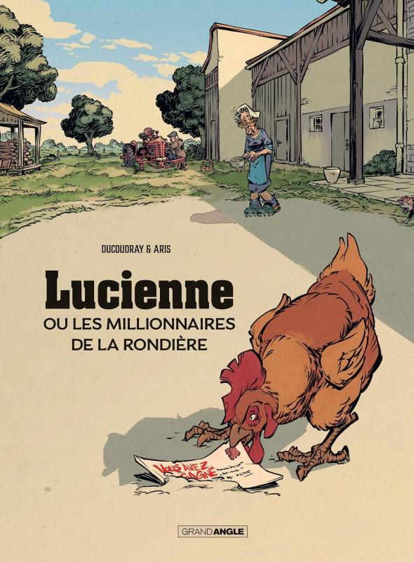 Lucienne ou les millionnaires de la rondière, bd chez Bamboo de Ducoudray, Aris