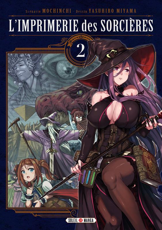 L'imprimerie des sorcières  T2, manga chez Soleil de Mochinchi, Miyama