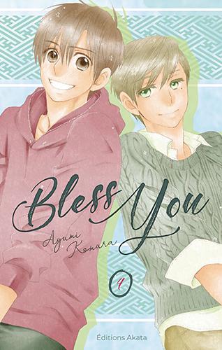 Bless you  T4, manga chez Akata de Komura