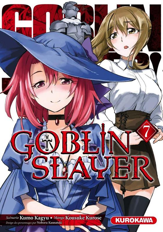 Goblin slayer T7, manga chez Kurokawa de Kagyu, Kurose