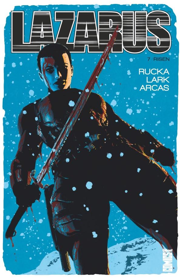 Lazarus T7 : Fracture (0), comics chez Glénat de Rucka, Lark, Boss, Arcas