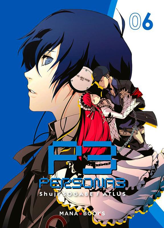 Persona 3 T6, manga chez Mana Books de Atlus, Sogabe