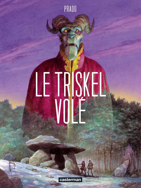 Le Triskel volé, bd chez Casterman de Prado