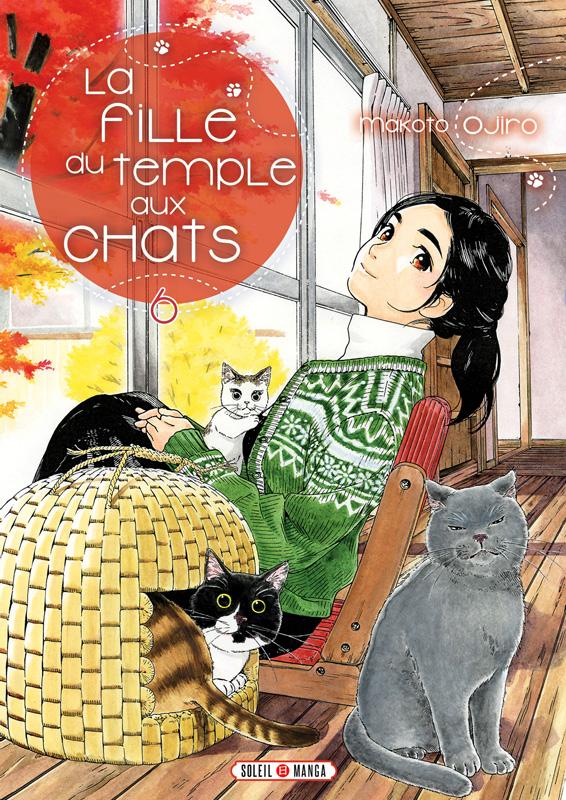 La fille du temple aux chats T6, manga chez Soleil de Ojiro