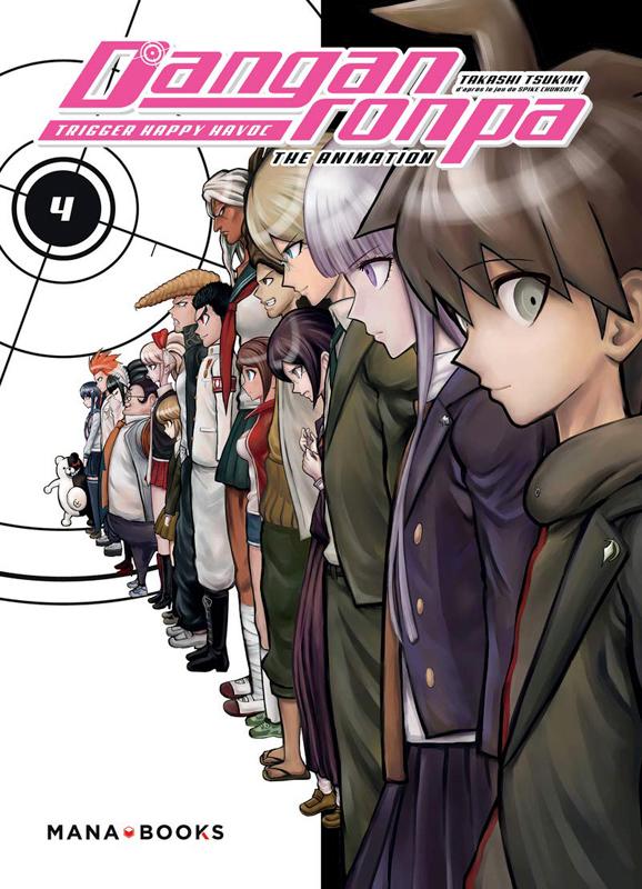 Danganronpa T4, manga chez Mana Books de Chunsoft, Takashi