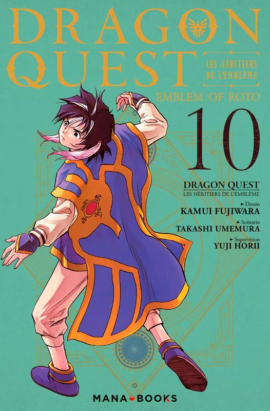 Dragon quest - Les héritiers de l'emblème T10, manga chez Mana Books de Eishima, Fujiwara