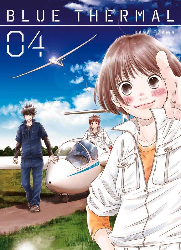 Blue thermal T4, manga chez Komikku éditions de Ozawa