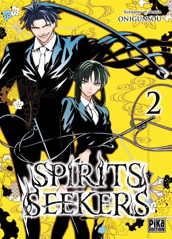 Spirit seekers T2, manga chez Pika de Onigunsô