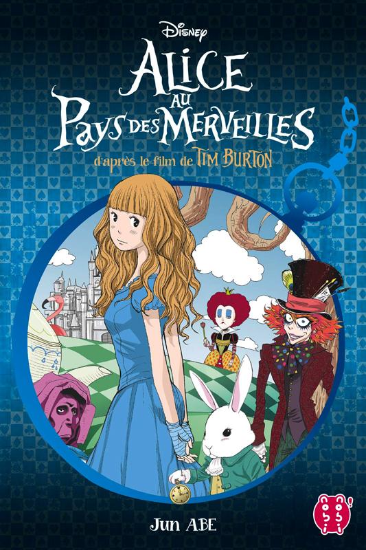 Alice au pays des merveilles, manga chez Nobi Nobi! de Abe, Burton