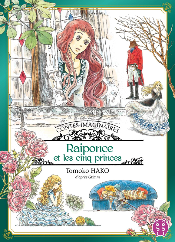 Raiponce et les cinq princes, manga chez Nobi Nobi! de Hako