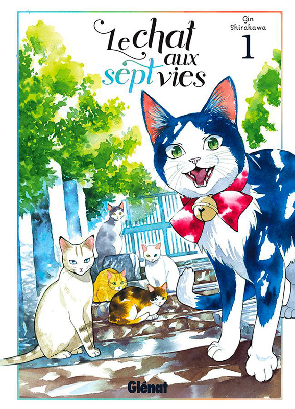 Le chat aux sept vies  T1, manga chez Glénat de Shirakawa