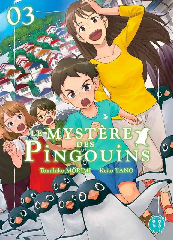 Le mystère des pingouins T3, manga chez Nobi Nobi! de Morimi, Yano