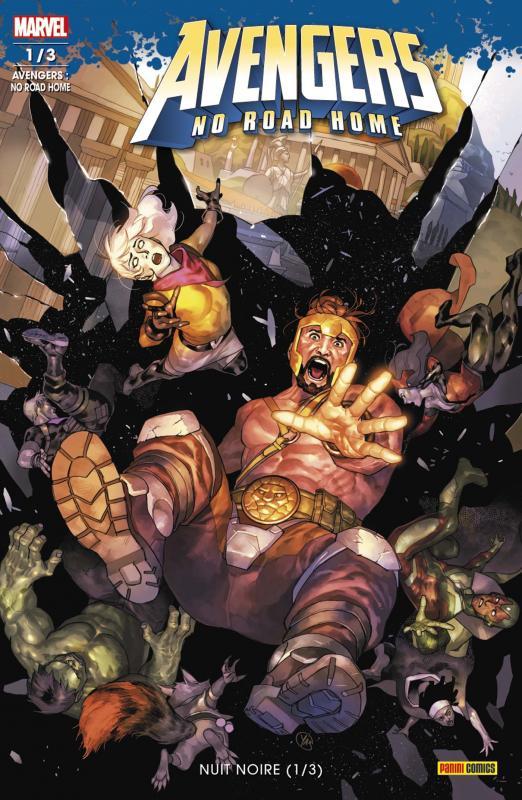 Avengers : no road home T1 : Nuit noire (0), comics chez Panini Comics de Zub, Ewing, Waid, Medina, Izaakse, Aburtov, Menyz, Putri