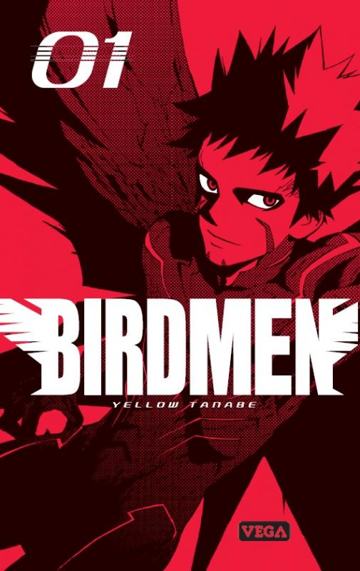 Birdmen T1, manga chez Vega de Tanabe