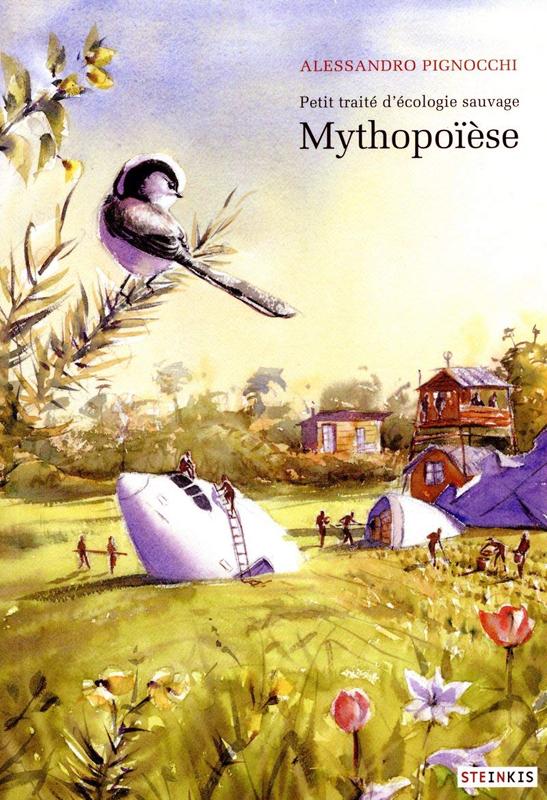 Mythopoïèse, bd chez Steinkis de Pignocchi