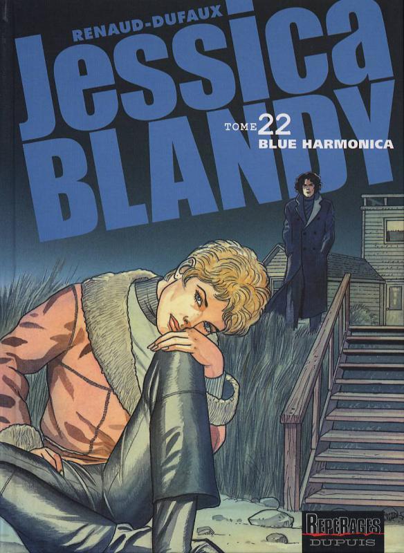 Jessica Blandy T22 : Blue harmonica (0), bd chez Dupuis de Dufaux, Renaud