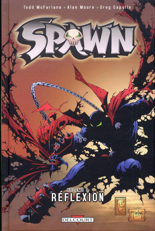 Spawn – Archives, T3 : Réflexion (1), comics chez Delcourt de Moore, McFarlane, Daniel, Capullo, Suplee, Broeker, Oliff