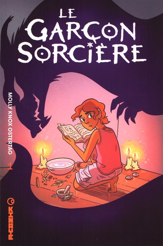 Le garçon sorcière T1, comics chez Kinaye de Ostertag
