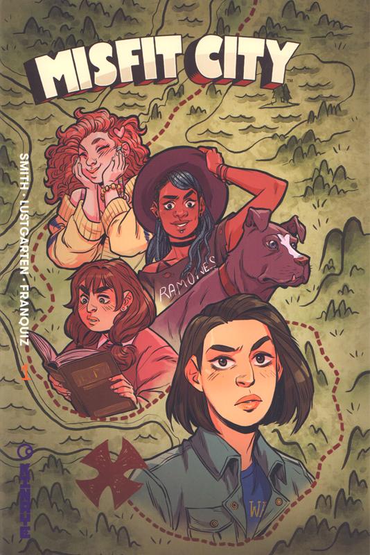 Misfit City T1 : Fermez les écoutilles ! (0), comics chez Kinaye de Lustgarten, Smith, Franquiz, Peer