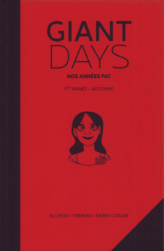 Giant Days T1 : Automne (0), comics chez Akileos de Allison, Sarin, Treiman, Cogar