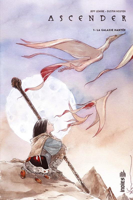 Ascender T1 : La galaxie hantée (0), comics chez Urban Comics de Lemire, Nguyen