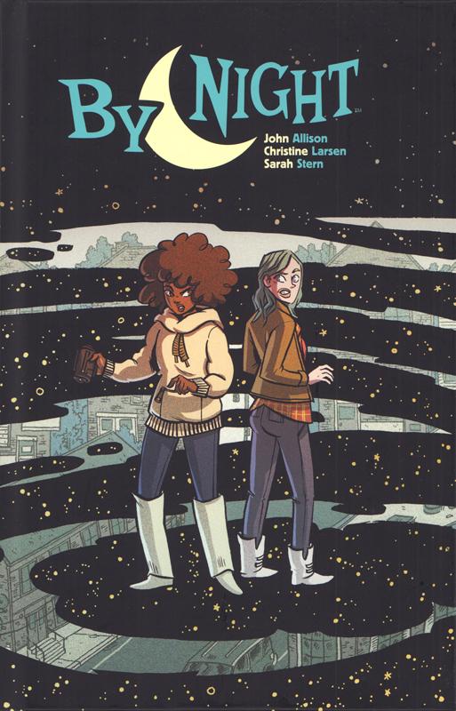 By night, comics chez Bliss Comics de Allison, Larsen, Stern
