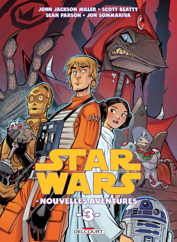 Star Wars Nouvelles Aventures T3, comics chez Delcourt de Beatty, Jackson Miller, Sommariva, Herms