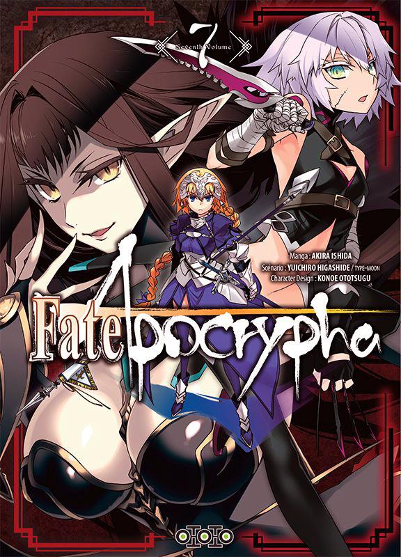 Fate/apocrypha  T7, manga chez Ototo de Higashide, Ishida