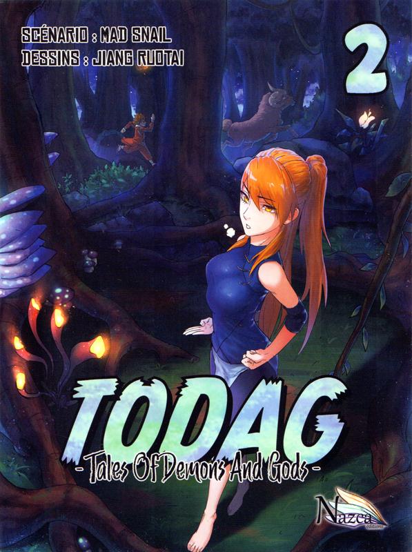 Todag - Tales of demon and gods T2, manga chez Nazca de Mad snail, Ruotai