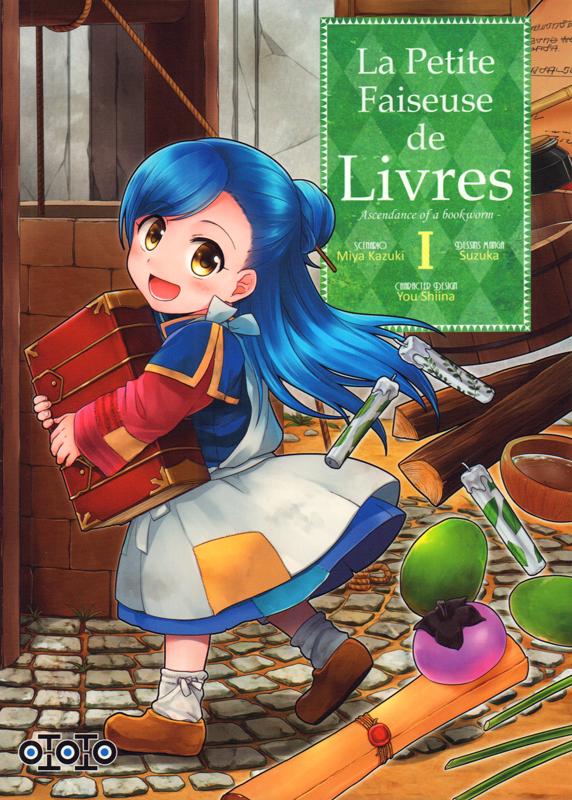La petite faiseuse de livres T1, manga chez Ototo de Kazuki, Suzuka