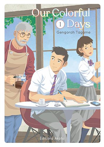 Our colorful days T1, manga chez Akata de Tagame