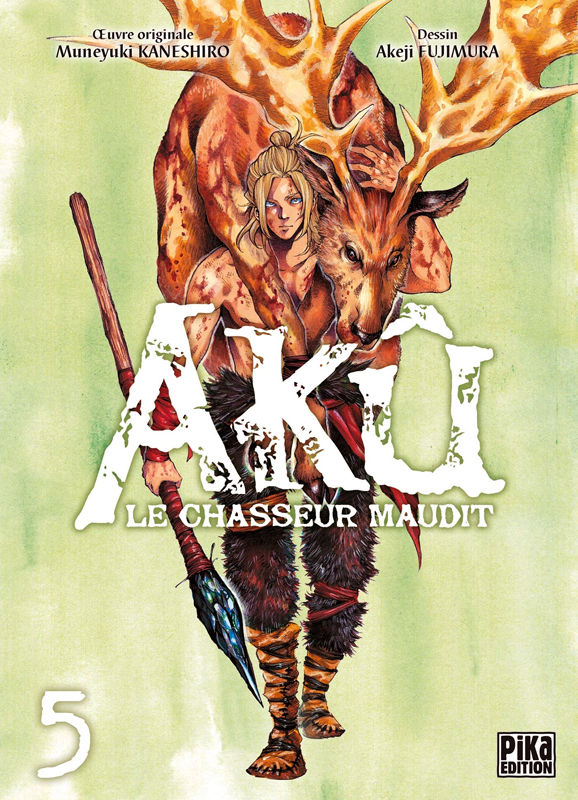 Akû, le chasseur maudit T5, manga chez Pika de Kaneshiro, Akeji
