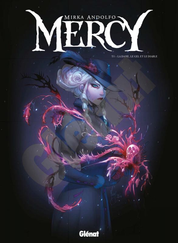 Mercy T1 : La dame, le gel et le diable (0), comics chez Glénat de Andolfo