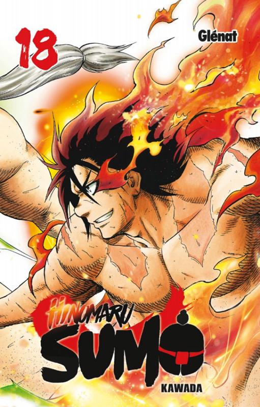 Hinomaru sumo T18, manga chez Glénat de Kawada