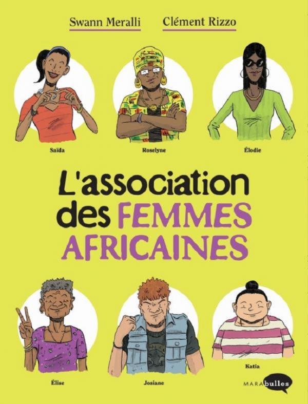 L'Association des femmes africaines  T1, bd chez Marabout de Meralli, Rizzo