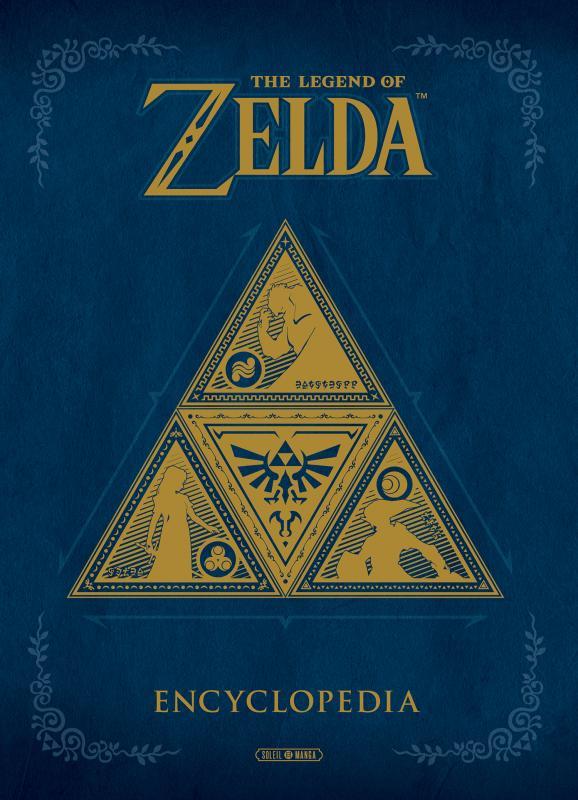 The Legend of Zelda Encyclopedia, manga chez Soleil de Nintendo