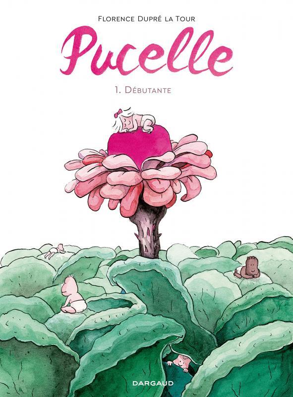 Pucelle, bd chez Dargaud de Dupré la tour
