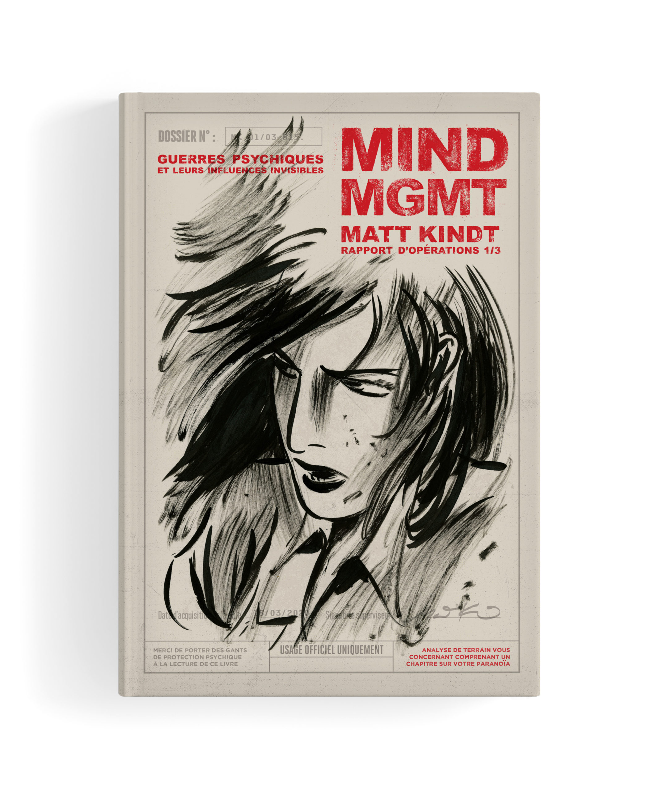 Mind MGMT T1, comics chez Monsieur Toussaint Louverture de Kindt