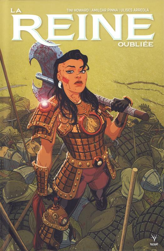 La Reine oubliée, comics chez Bliss Comics de Howard, Pinna, Arreola, Kano