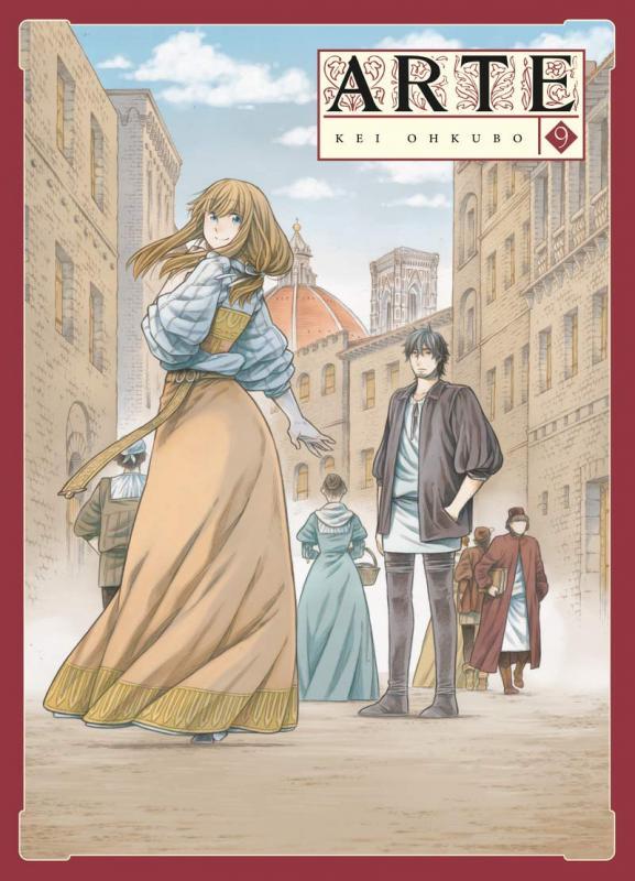 Arte T9, manga chez Komikku éditions de Ohkubo