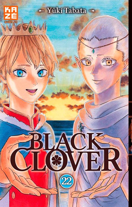 Black clover T22, manga chez Kazé manga de Tabata