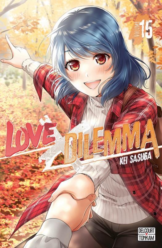 Love x dilemma T15, manga chez Delcourt Tonkam de Sasuga