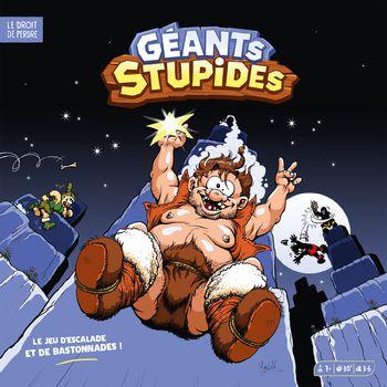 Géants stupides, bd chez Le droit de perdre de Lejeune, Duchêne, Poinsot