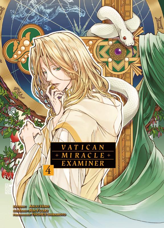 Vatican miracle examiner T4, manga chez Komikku éditions de Fujiki, Hino