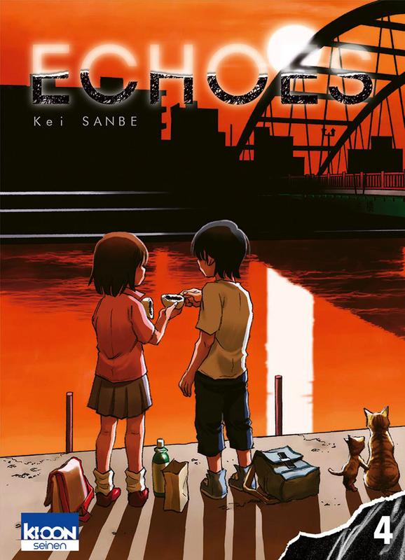 Echoes T4, manga chez Ki-oon de Sanbe