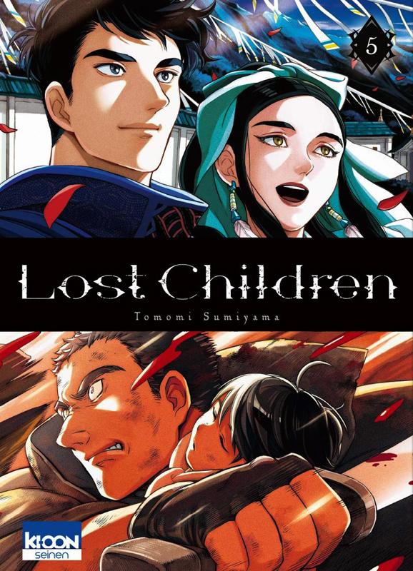 Lost children T5, manga chez Ki-oon de Sumiyama