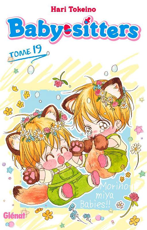 Baby sitters T19, manga chez Glénat de Tokeino