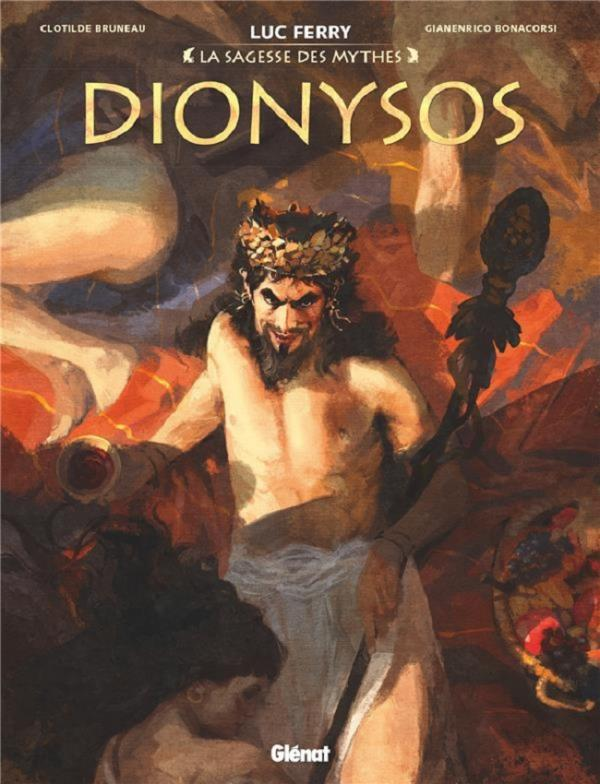 Dionysos, bd chez Glénat de Bruneau, Bonacorsi