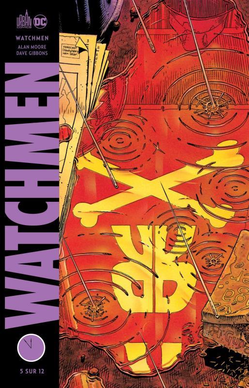 Watchmen T5, comics chez Urban Comics de Moore, Gibbons